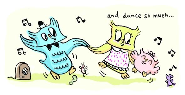 Spread 10 dance so much